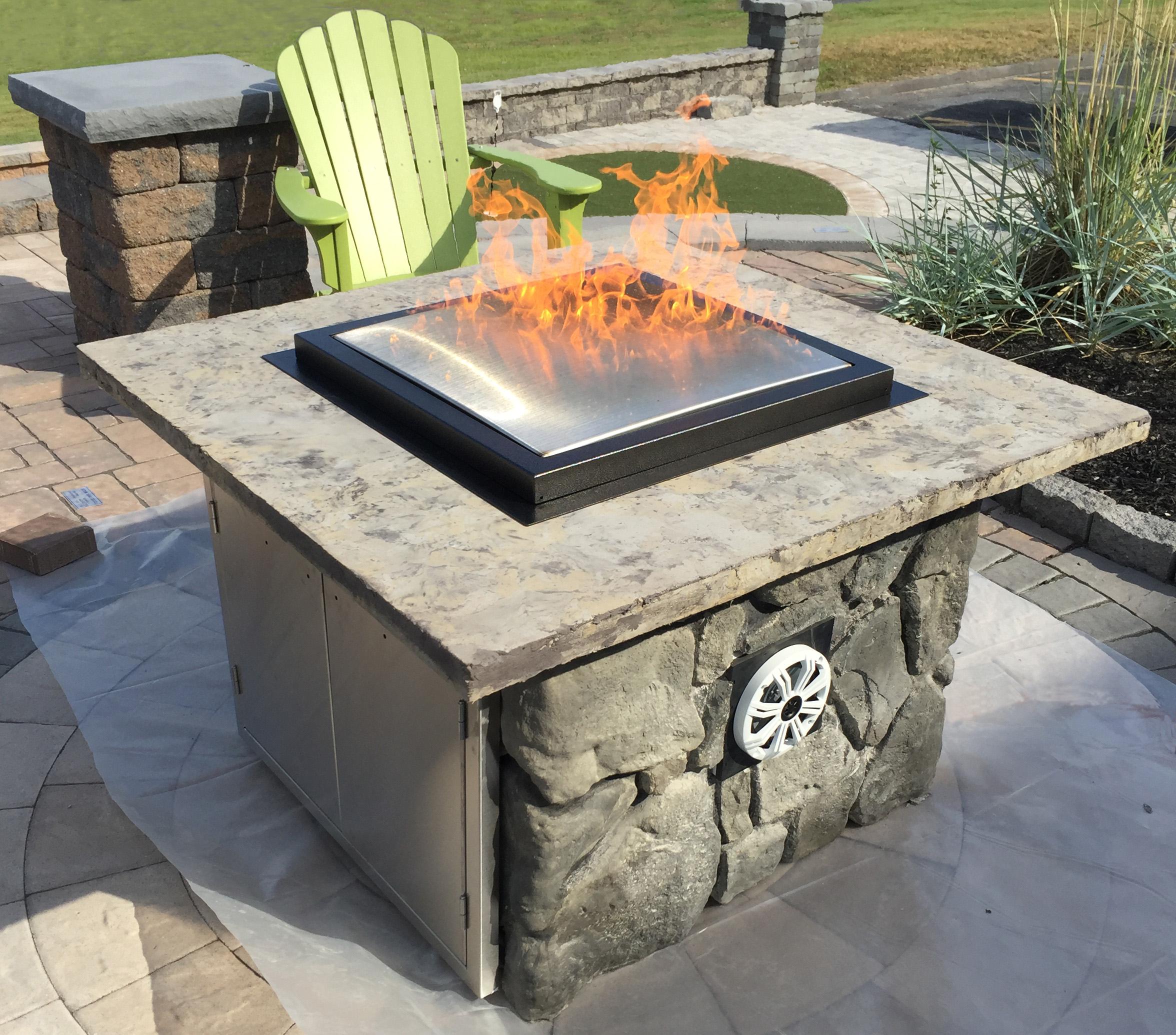 Blazing Beats fire table
