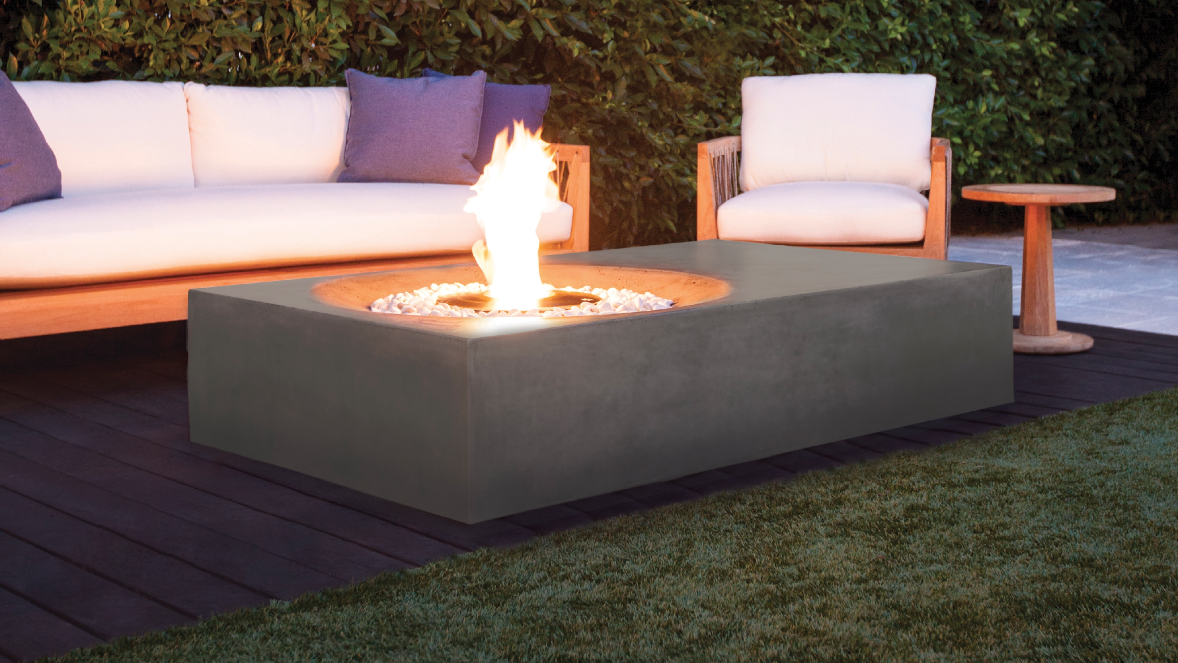 Fire Tables at Casual Creations
