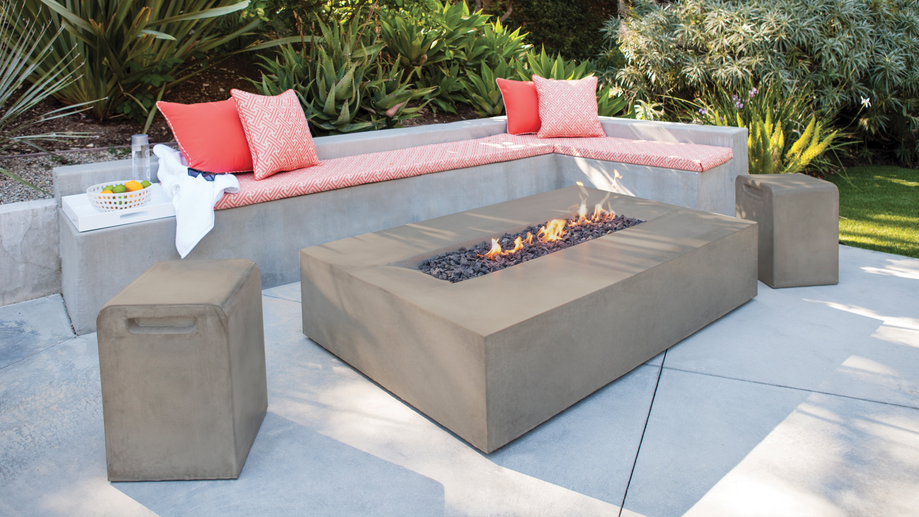 Fire Tables at Casual Creations Baton Rouge