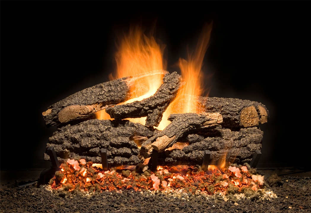 Vented Gas Logs at Casual Creations