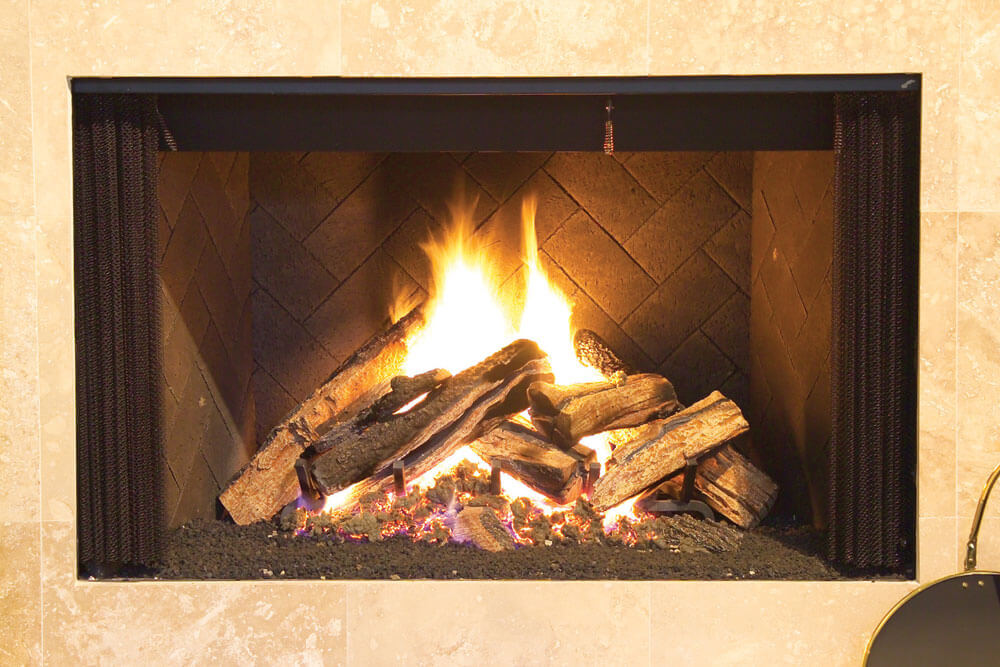 Blount Gas Logs at Casual Creations