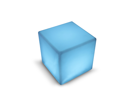 LED Cube at Casual Creations