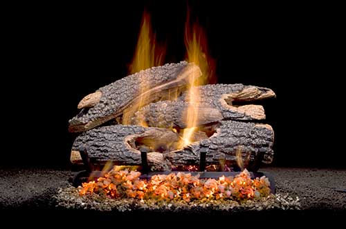 Texas Bonfire Blount Gas Logs