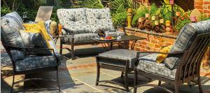 Indigo Outdoor Cushion