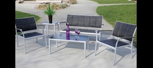 Roma Padded Sling Patio Furniture