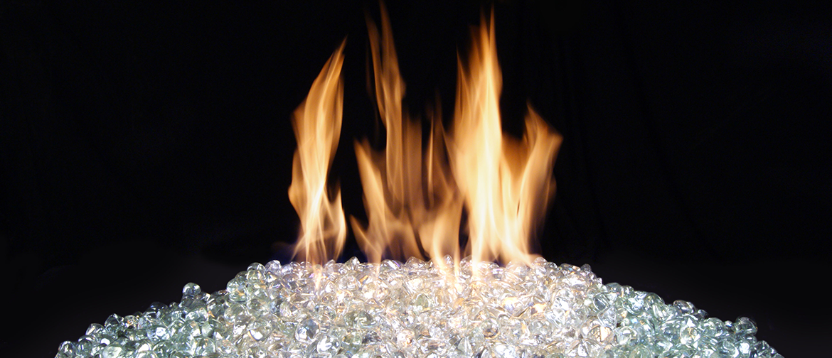 Fire Glass at Casual Creations