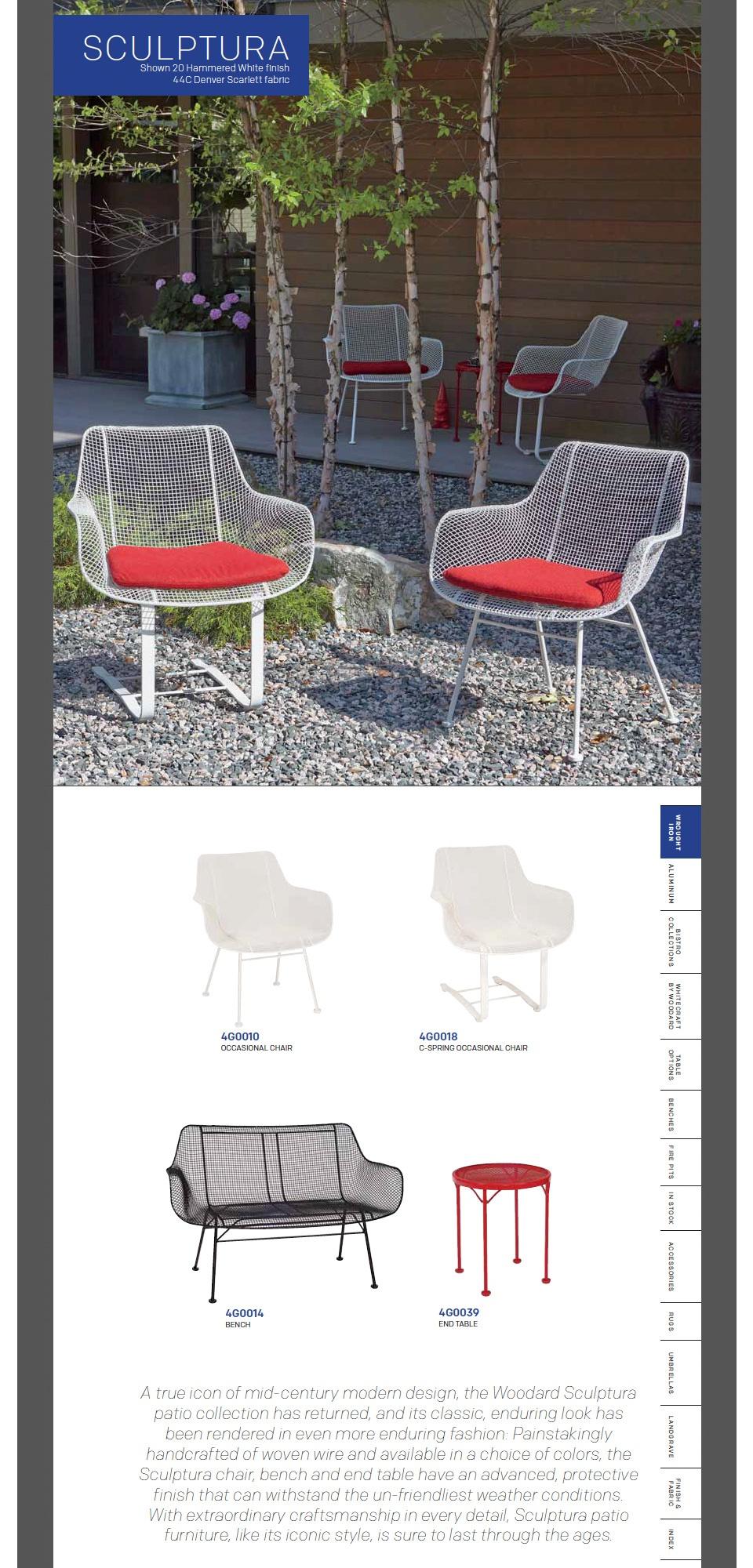 Sculptura Wire Chairs
