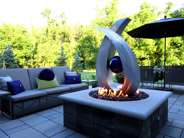 Custon Fire Pits at Casual Creations