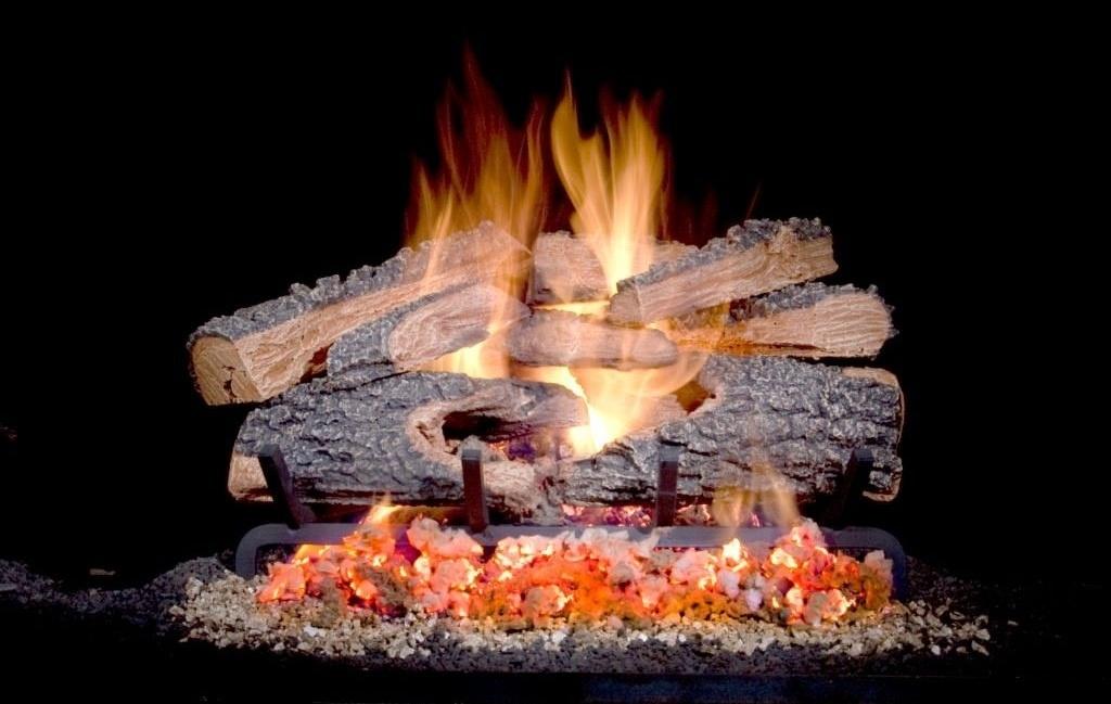 Split Bonfire Logs