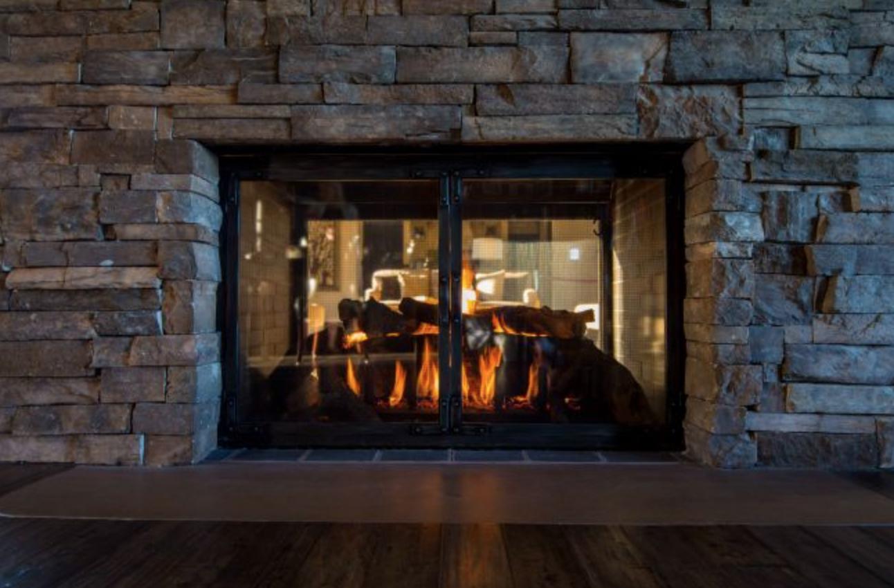 Stoll Indoor Fireplace Door