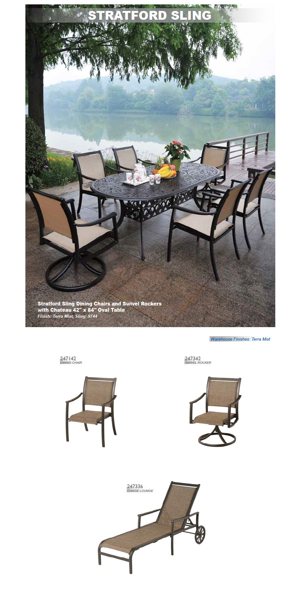 Woven Vinyl Outdoor Furniture