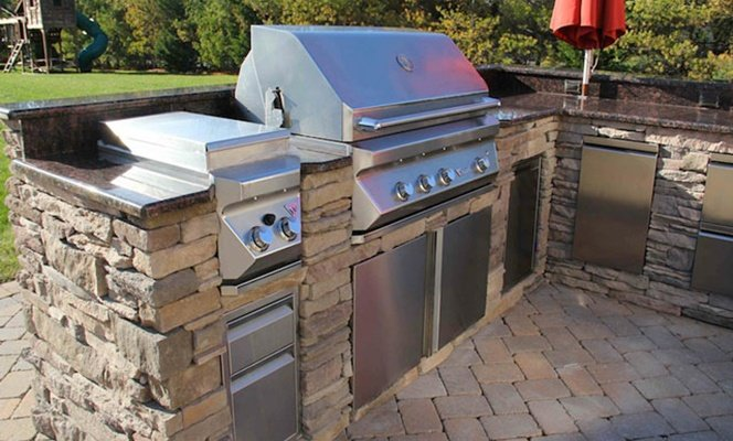 Twin Eagles outdoor kitchen