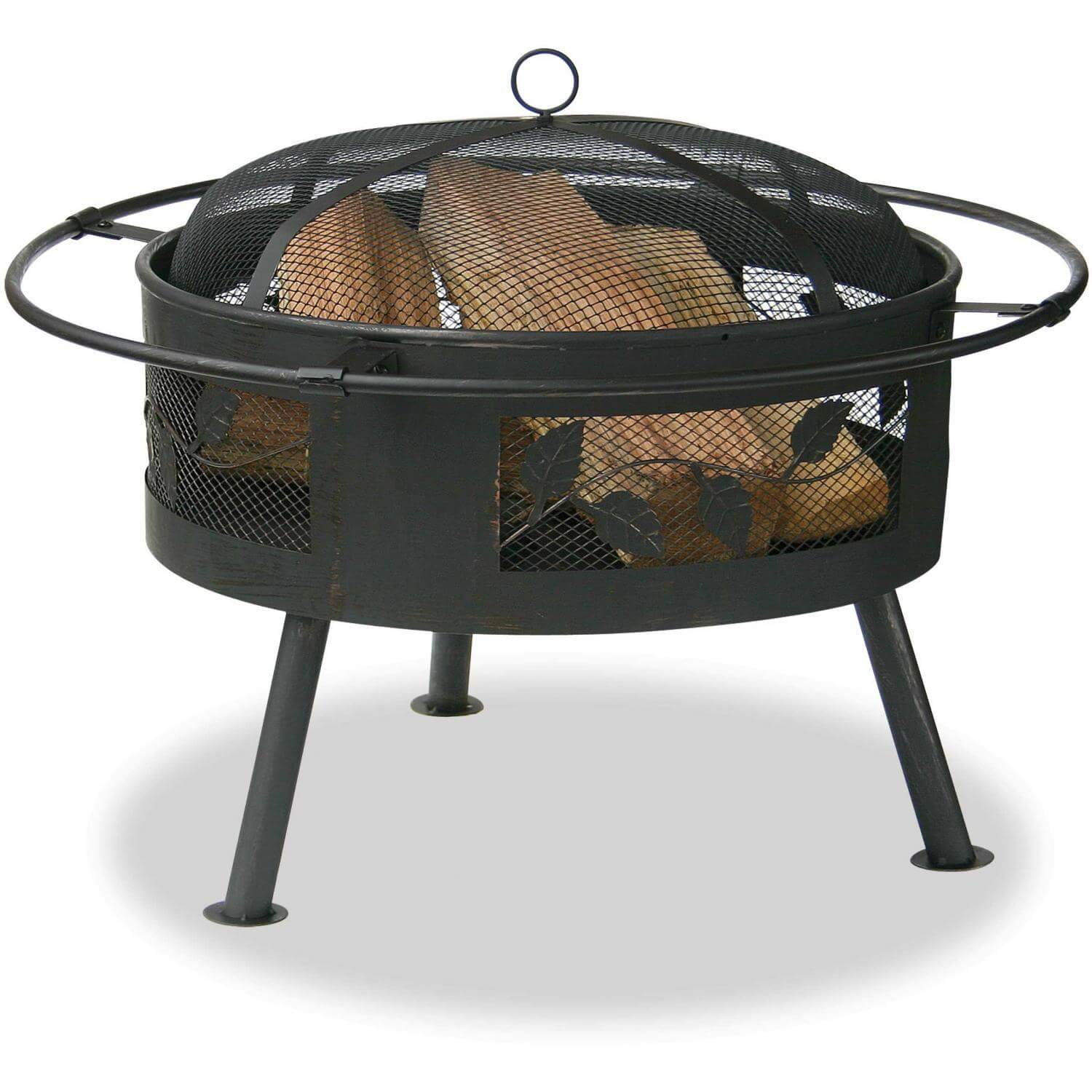 Uniflame Woodburning Fire Pit at Casual Creations