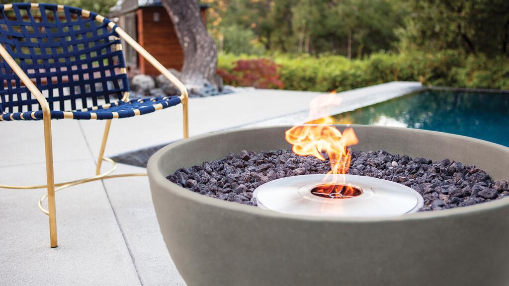 Gas Firepits at Casual Creations
