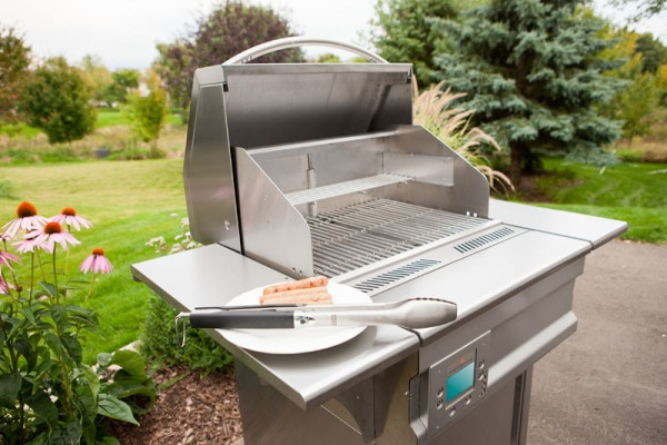 Web Small Outdoor Grill at Casual Creations