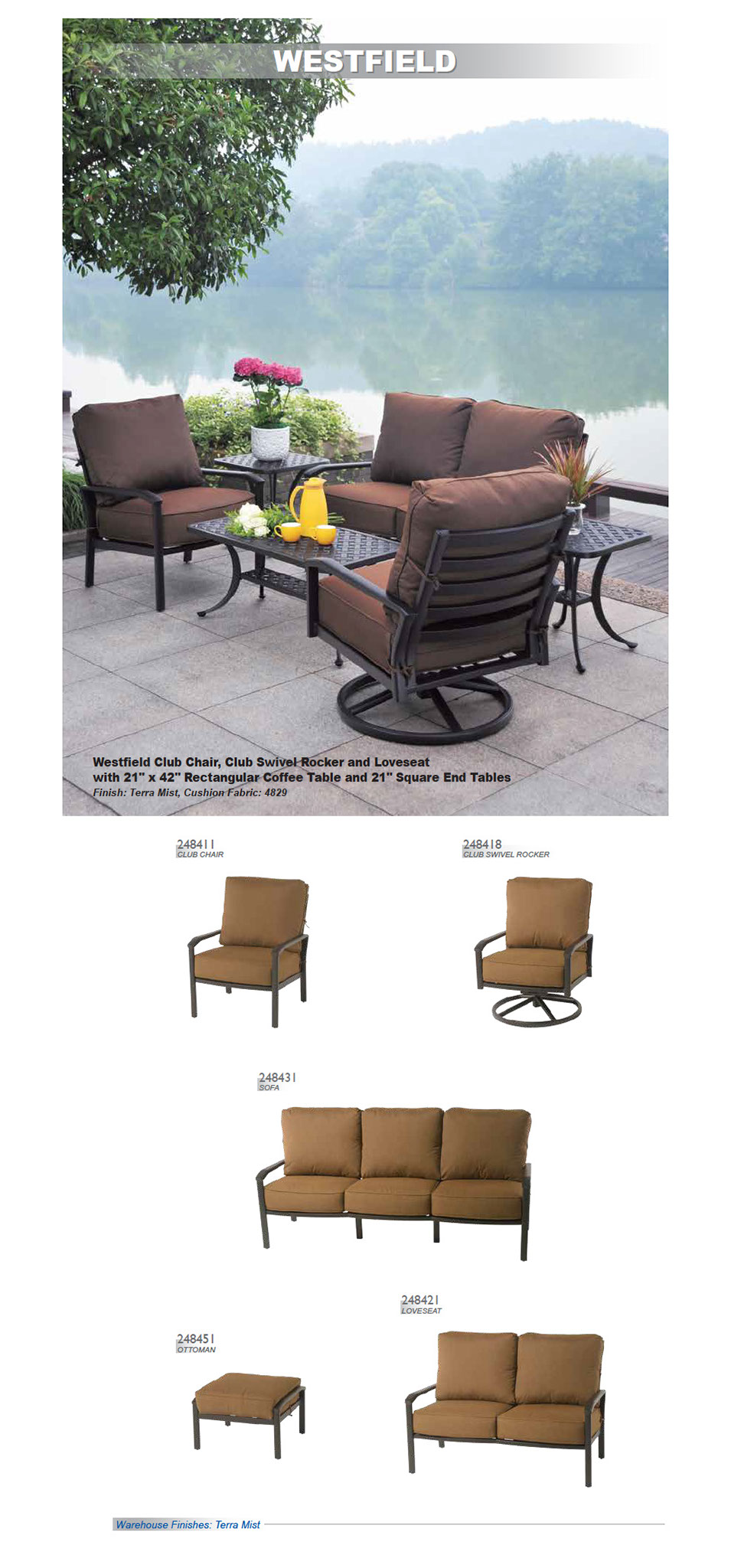 Westfield Outdoor Collection Baton Rouge