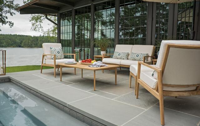 Outdoor Cushion Fabric and Pillows