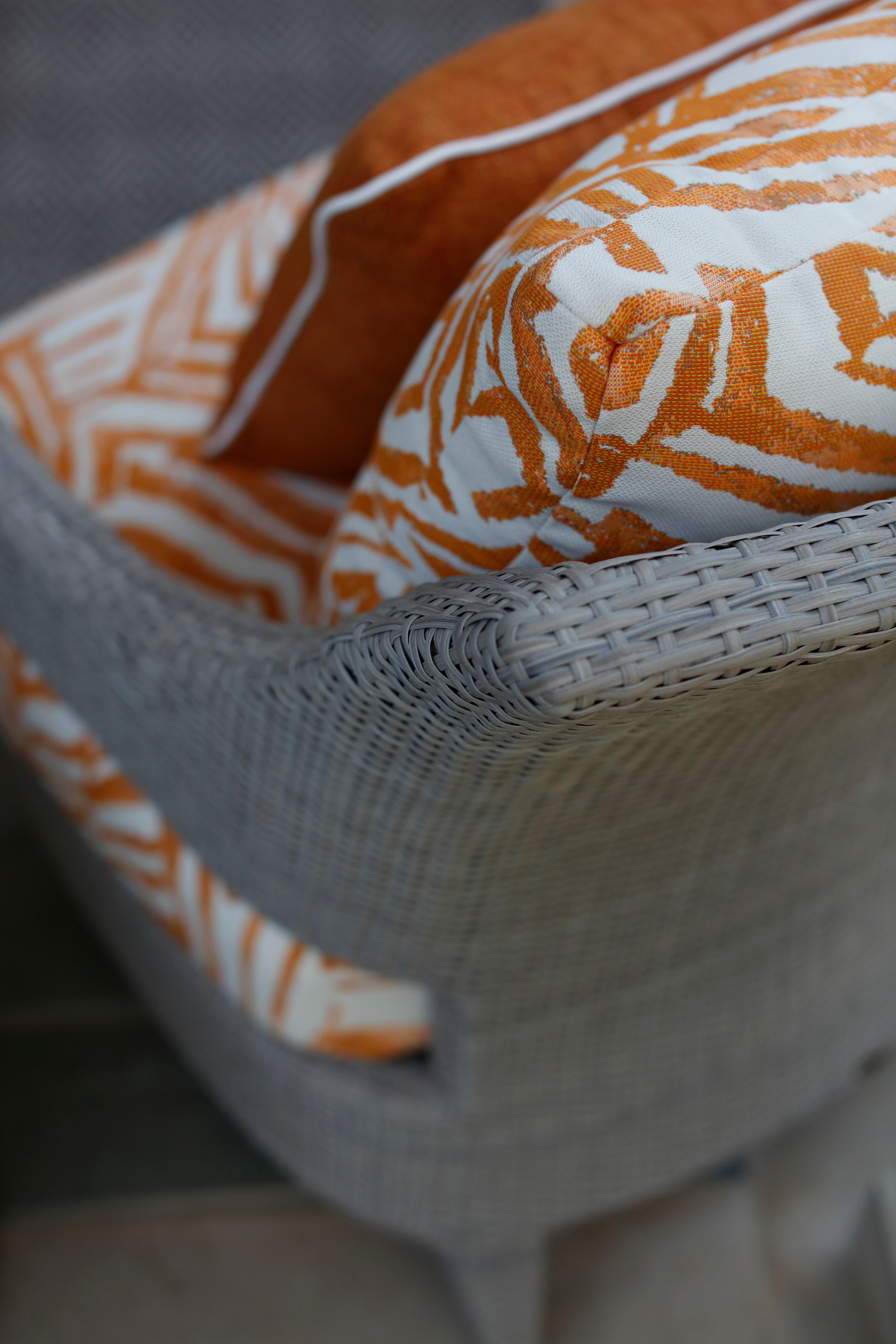 Patterned Outdoor Cushion Fabric