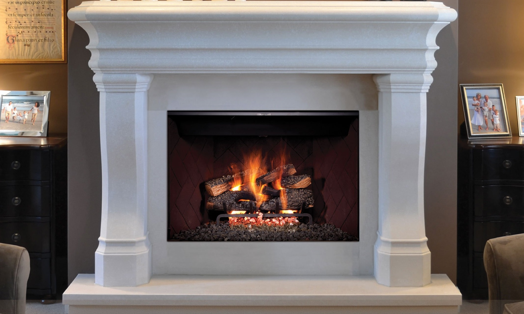 Gas Fireplaces at Casual Creations