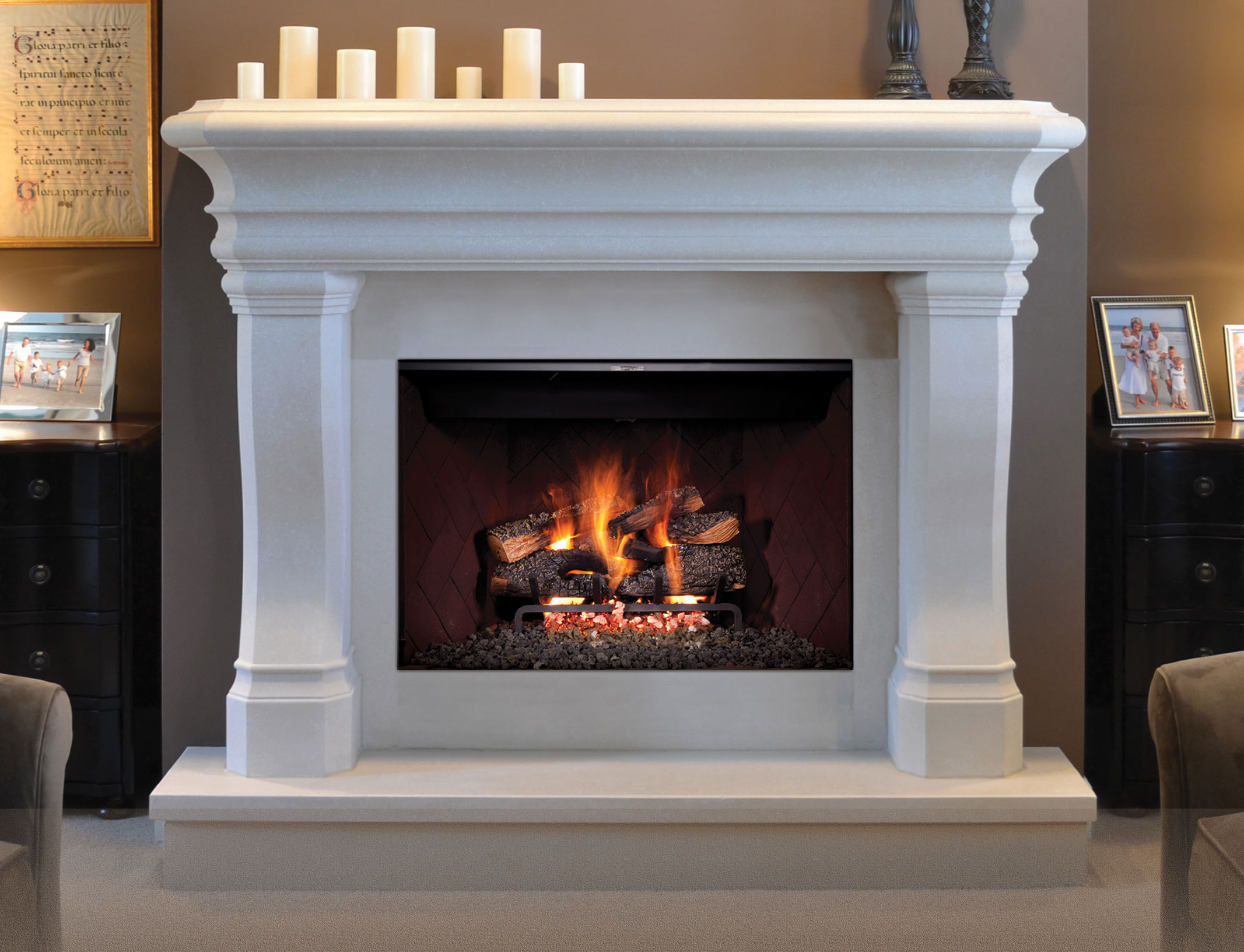 Golden Blount Gas Fireplace