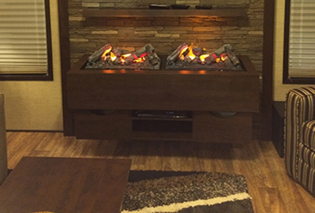 Electric Fireplaces at Casual Creations