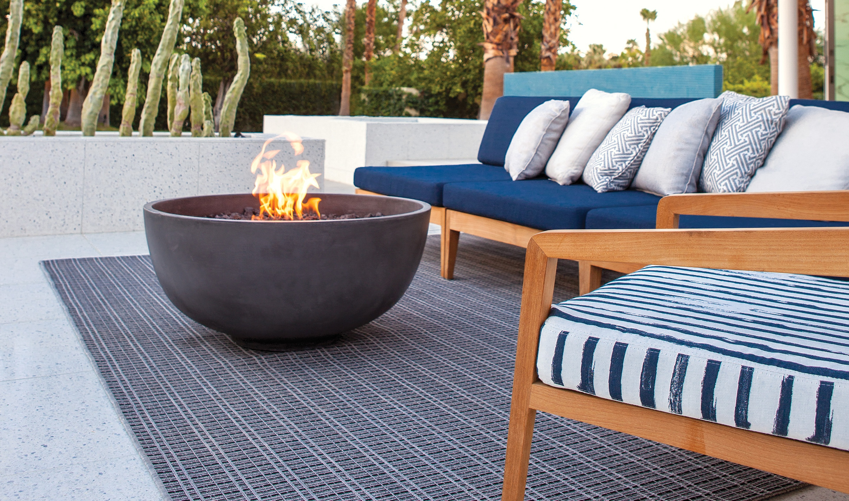 Gas Firepits to Casual Creations