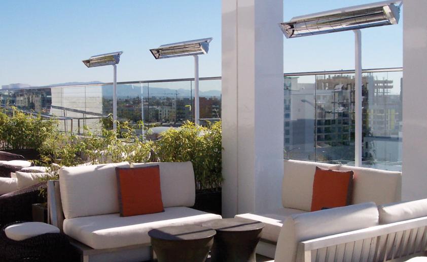 Infratech Outdoor Standing Heat Lamps
