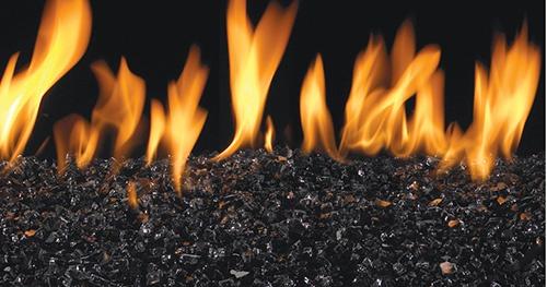 Black Fireglass