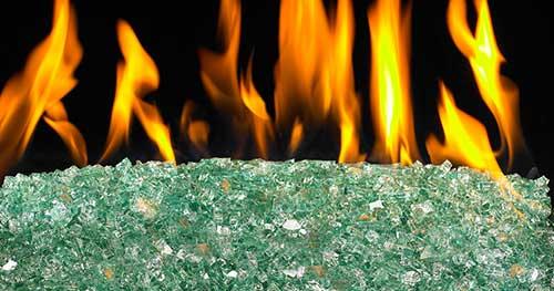 Emerald Fireglass