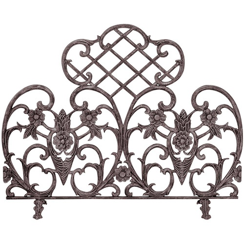 Iron Fireplace Screens at Casual Creations