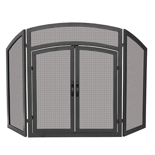 Modern Fireplace Screens at Casual Creations