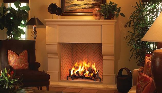Wood Burning Firebox at Casual Creations