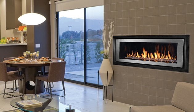Superior Linear Gas Fireplace
