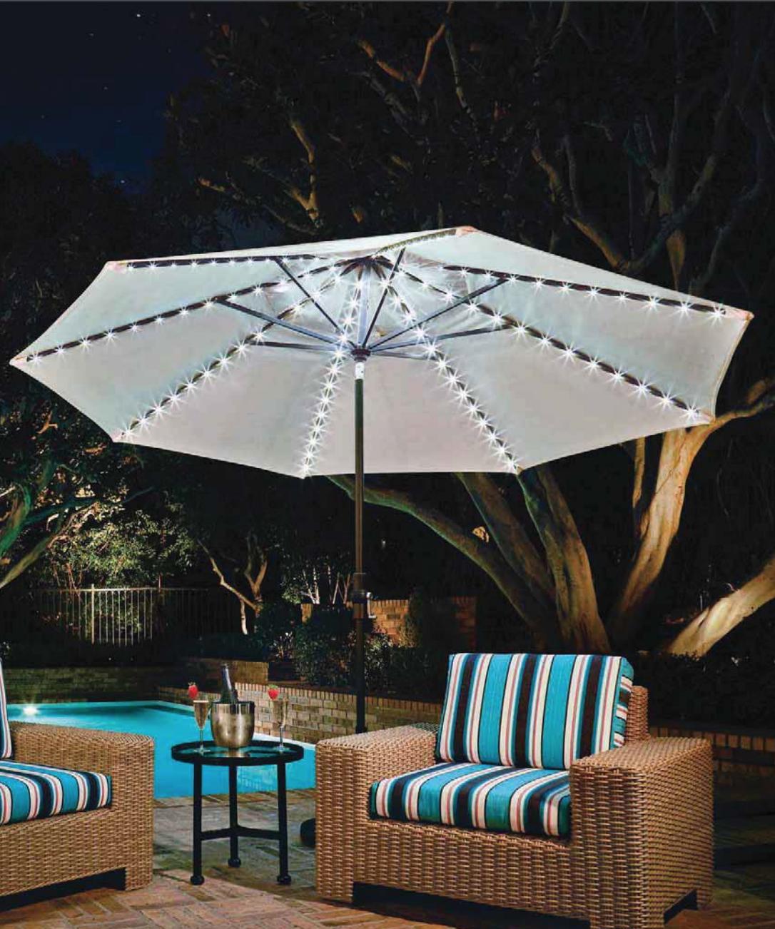 Treasure Garden Umbrella Lights