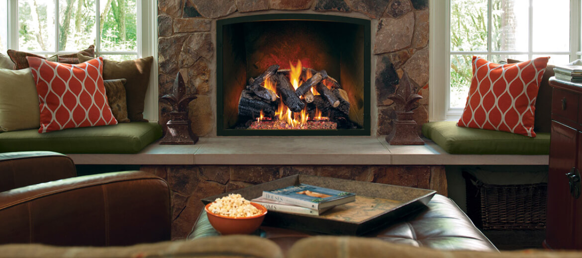 Realfyre Gas Logs at Casual Creations