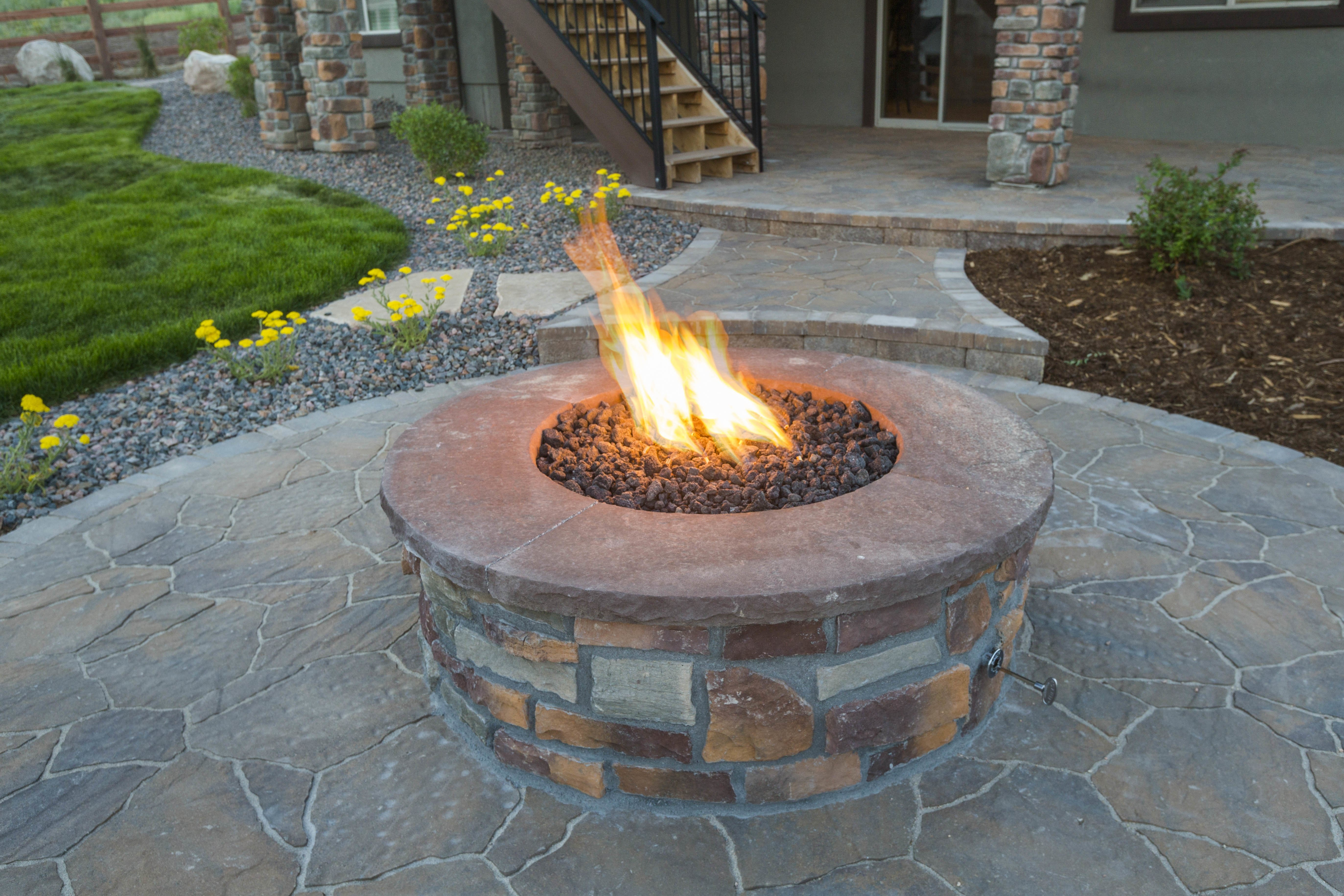 Baton Rouge Fireplace And Fire Pit Furnishings For Fall
