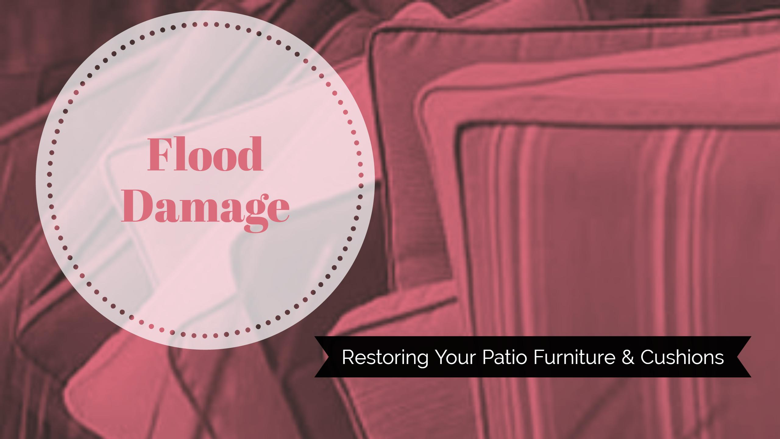 Restoring Patio Furniture After a Storm or Flood in Baton Rouge